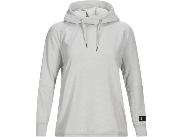 Peak Performance 2.0 Knitted Hood Dame antarctica